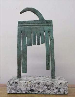 Bronze Sculpture Femme Ii By Joan Miro
