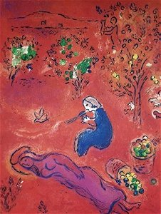 """Chagall - Mid - Day In Summertime """"After"""""""