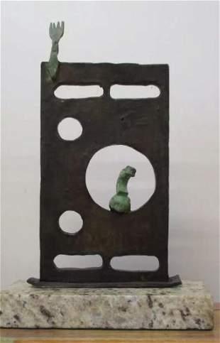 Bronze Sculpture Portrait Of Joan Miro