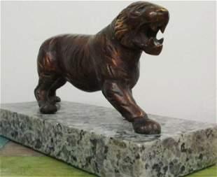 Bronze Sculpture Tiger Antoine Louis Barye