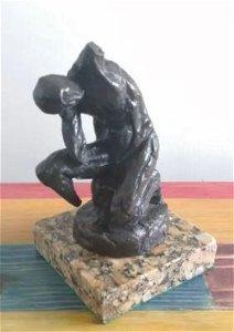 Male Bronze Sculpture By Henri Matisse