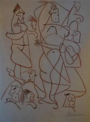 Pablo Picasso - Composition