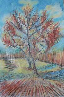 Camille Pissarro - The Red Tree
