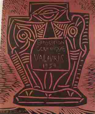 "Picasso Ceramics Ceramiques 59   ""After"""