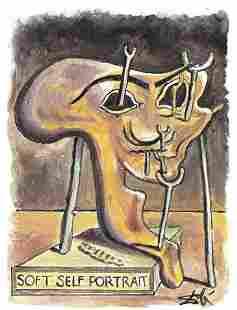 Salvador Dali Signed/Hand-Numbered Ltd Ed Litho