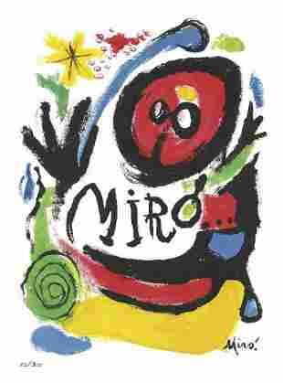 """Joan Miro - Tres Livres"""" """"After"""""""