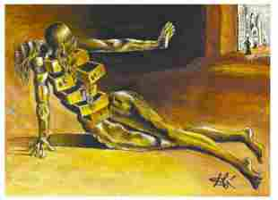 "Salvador Dali Signed/Hand-Numbr Ltd Ed""Anthropomorphic"
