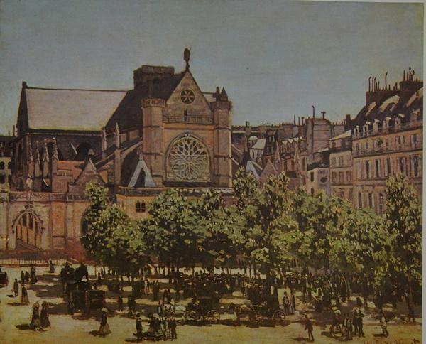 """Monet - SAINT GERMAN L'AUXERROIS """"After"""""""