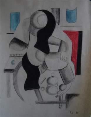 Fernand Leger - Study for a woman