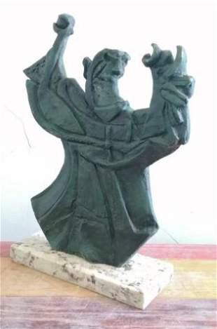 Bronze Sculpture Fuerza By Rufino Tamayo