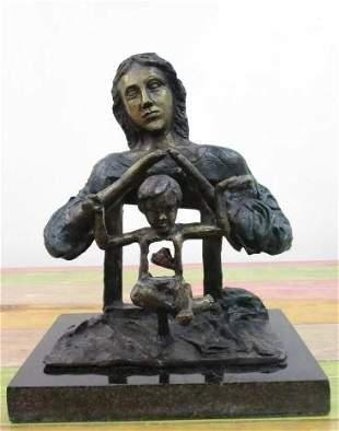 Bronze Sculpture Mother Of Salvador Dali