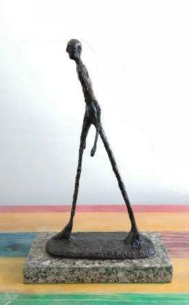Walking Man Bronze Sculpture By Alberto Giacometti