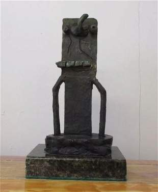 Bronze Sculpture Man by Joan Miro