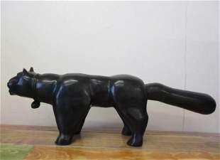 Lucky Bronze Sculpture by Fernando Botero
