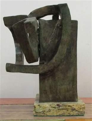 Bronze sculpture Femme by Eduardo Chillida
