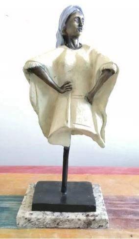 Bronze Sculpture Witch By Victor Gutierrez