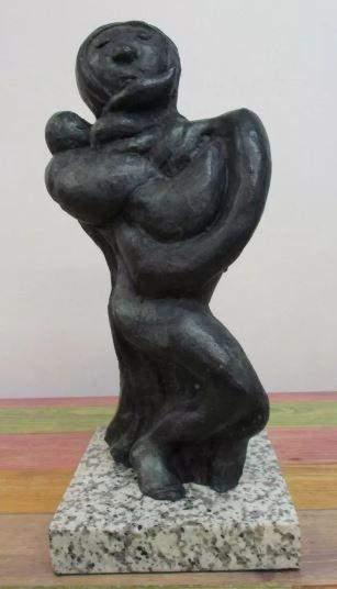 Bronze Sculpture Mother Of David Alfaro Siqueiros