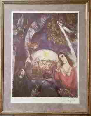 Marc Chagall ( After) Around Her