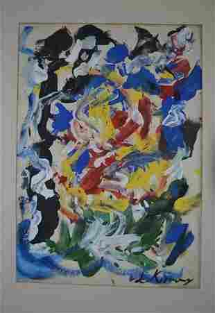 Williem DE Kooning - Untitled II