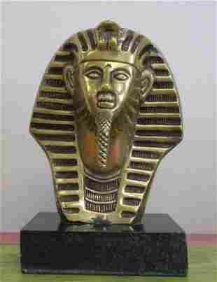 Bronze Sculpture Faraon By Sergio Bustamante