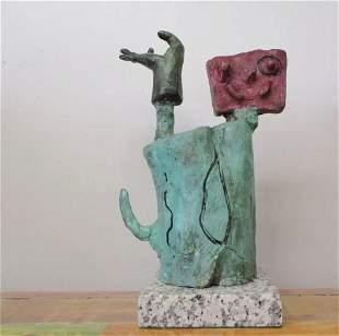 Bronze Sculpture Character Iii Joan Miro