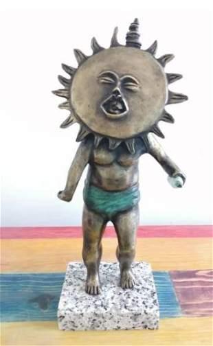 Bronze Sculpture Child By Sergio Bustamante