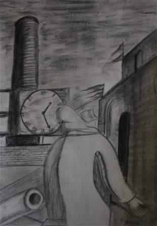 Giorgio De Chirico - The Time