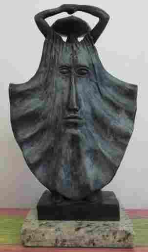 Bronze Sculpture Sky by Sergio Bustamante