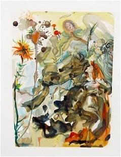 "Salvador Dali - 1960 Divine Comedy ""After""t"