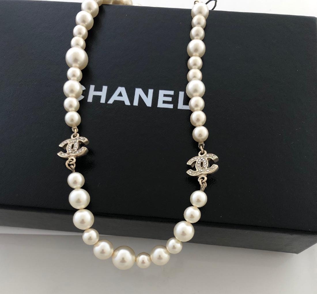 Chanel Rhinestone Necklace