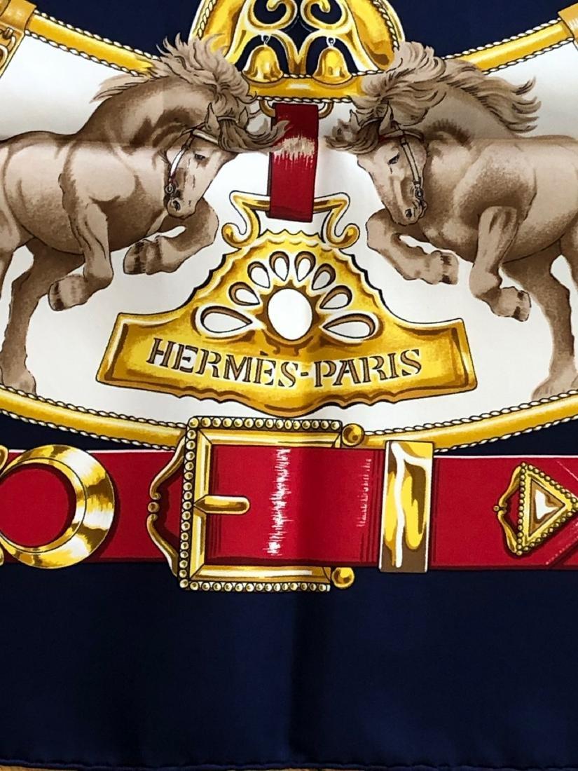 Hermes Silk Scarf - 3