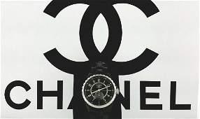 Chanel J12 Black Dial Ceramic Unisex Watch H3852