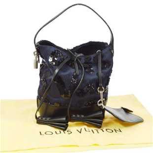 da472f176cbd LOUIS VUITTON SPOTLIGHT PM HAND BAG NAVY MONOGRAM
