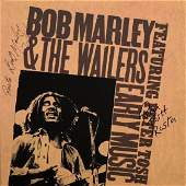 Bob Marley and Peter Tosh Autographed Album