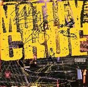 Autographed Motley Crue Debut Vinyl Record