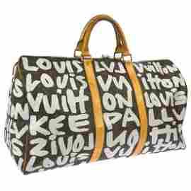 Louis Vuitton Keepall 50 Graffiti Travel Bag