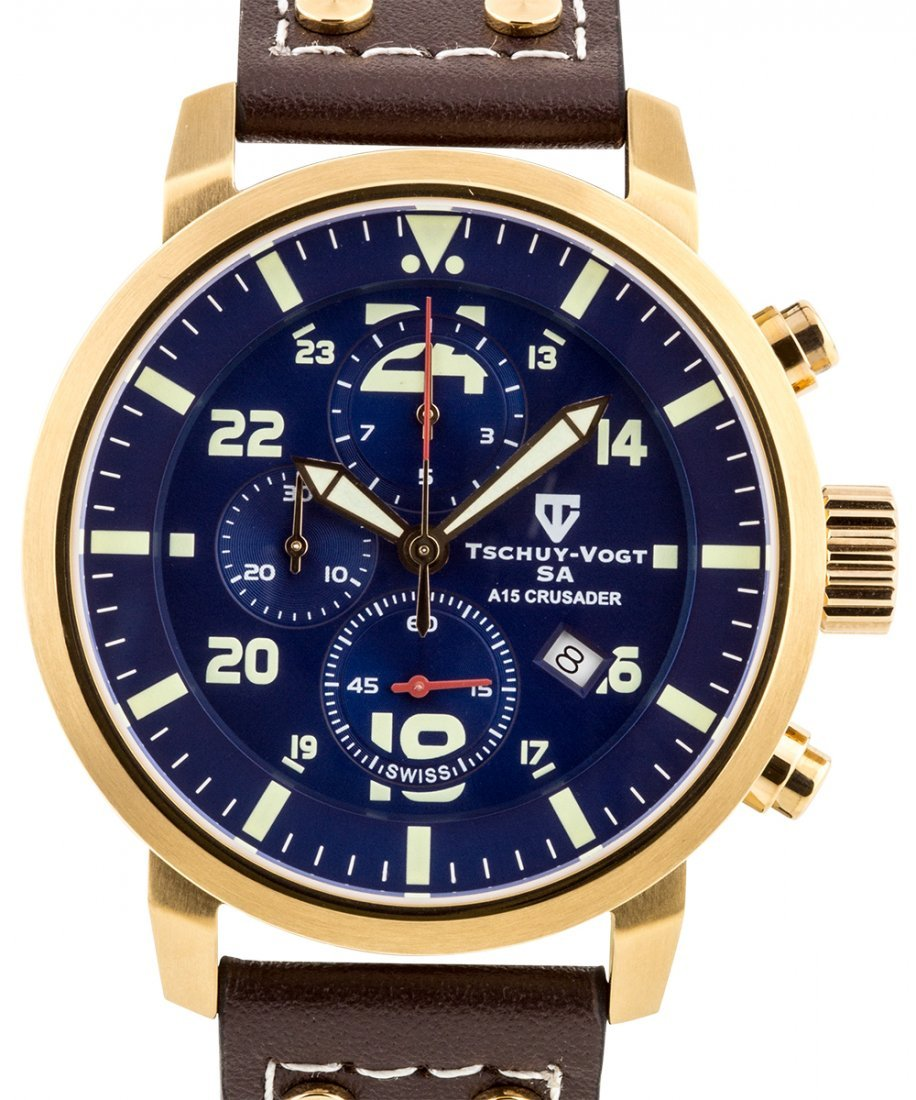 Tschuy-Vogt Swiss chronograph Men's Watch