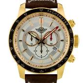 Zentler Freres Swiss Mens Chronograph Watch