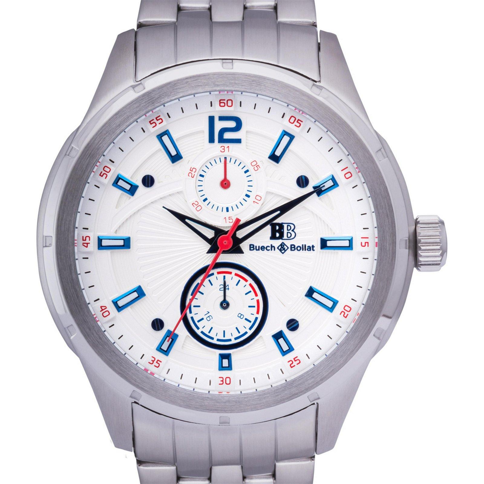 Buech & Boilat Courer Men's Quartz Watch Dial