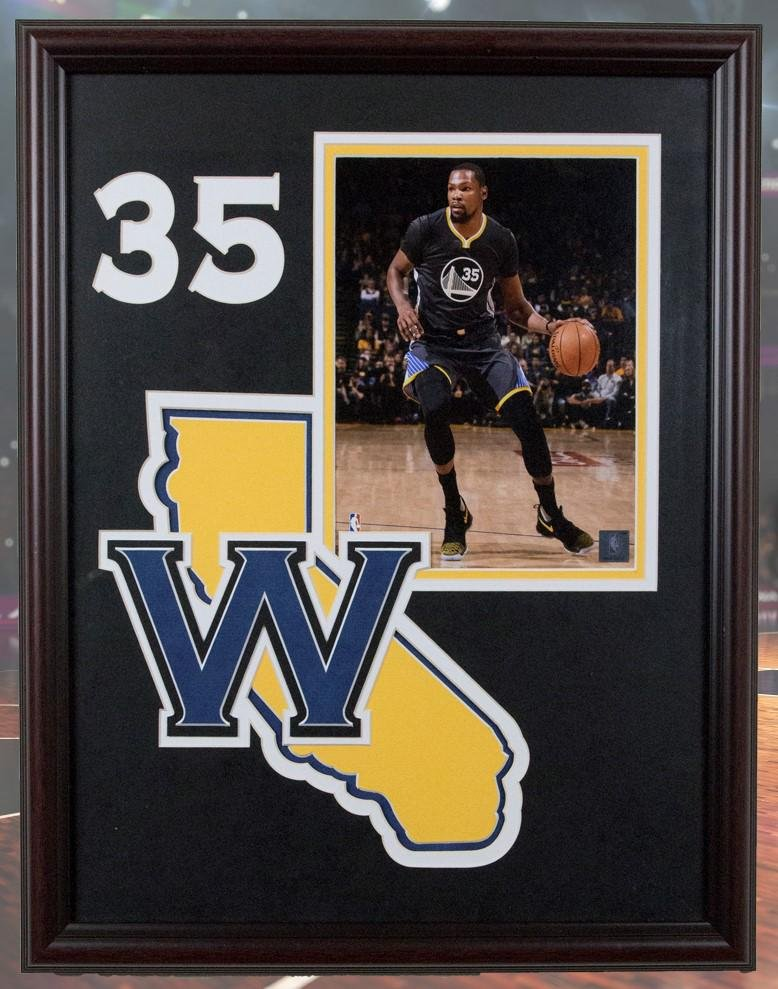 Kevin Durant Golden State Warriors 20x16 unsignedphoto