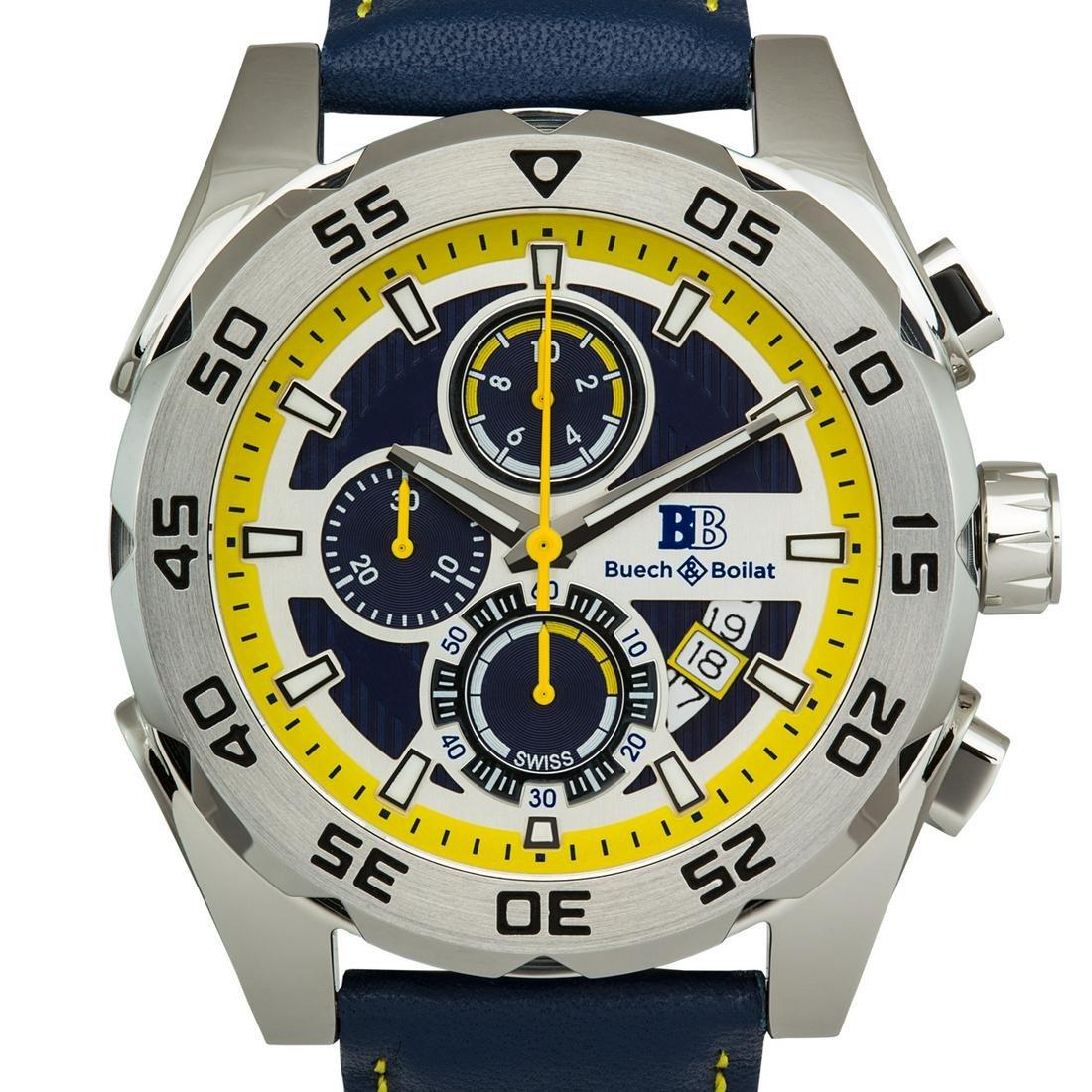 Buech & Boilat Swiss Chronograph Torent Mens Watch