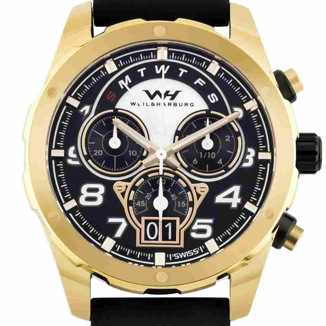Weil & Harburg Swiss Chronograph Hardy Men's Watch