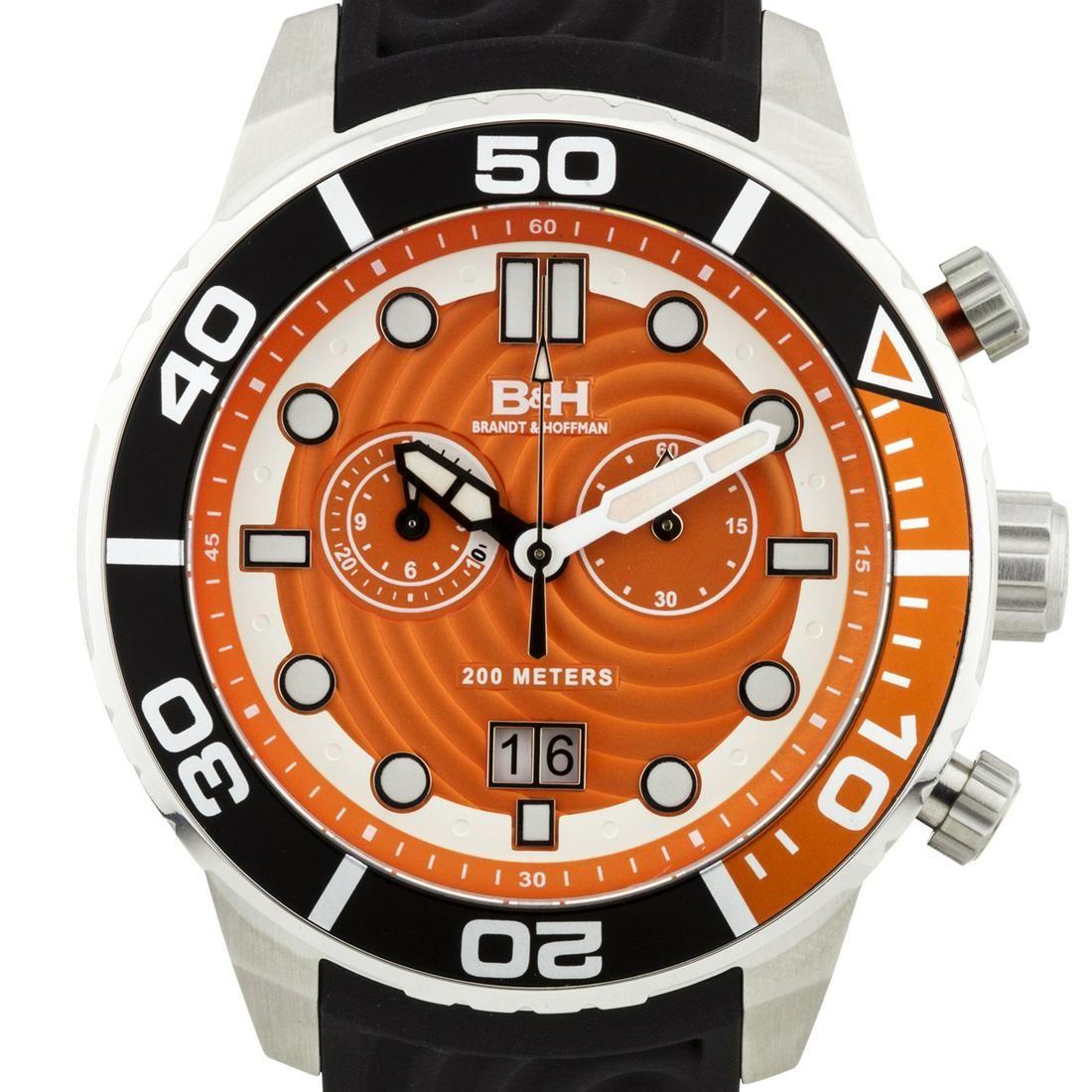 Brandt & Hoffman Men's Swiss Chronograph Watch