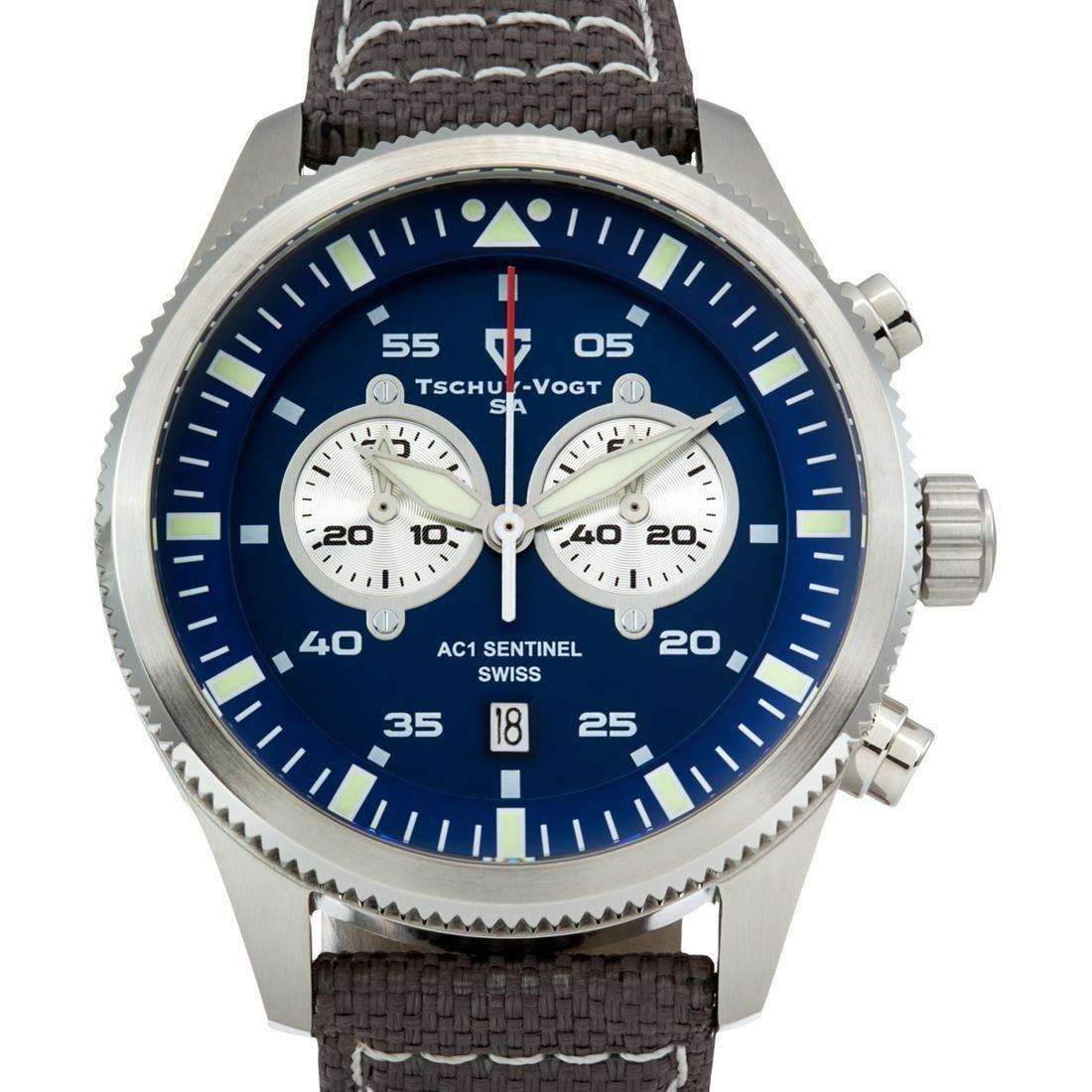 Tschuy-Vogt AC1 Sentinel Men's Swiss quartz watch