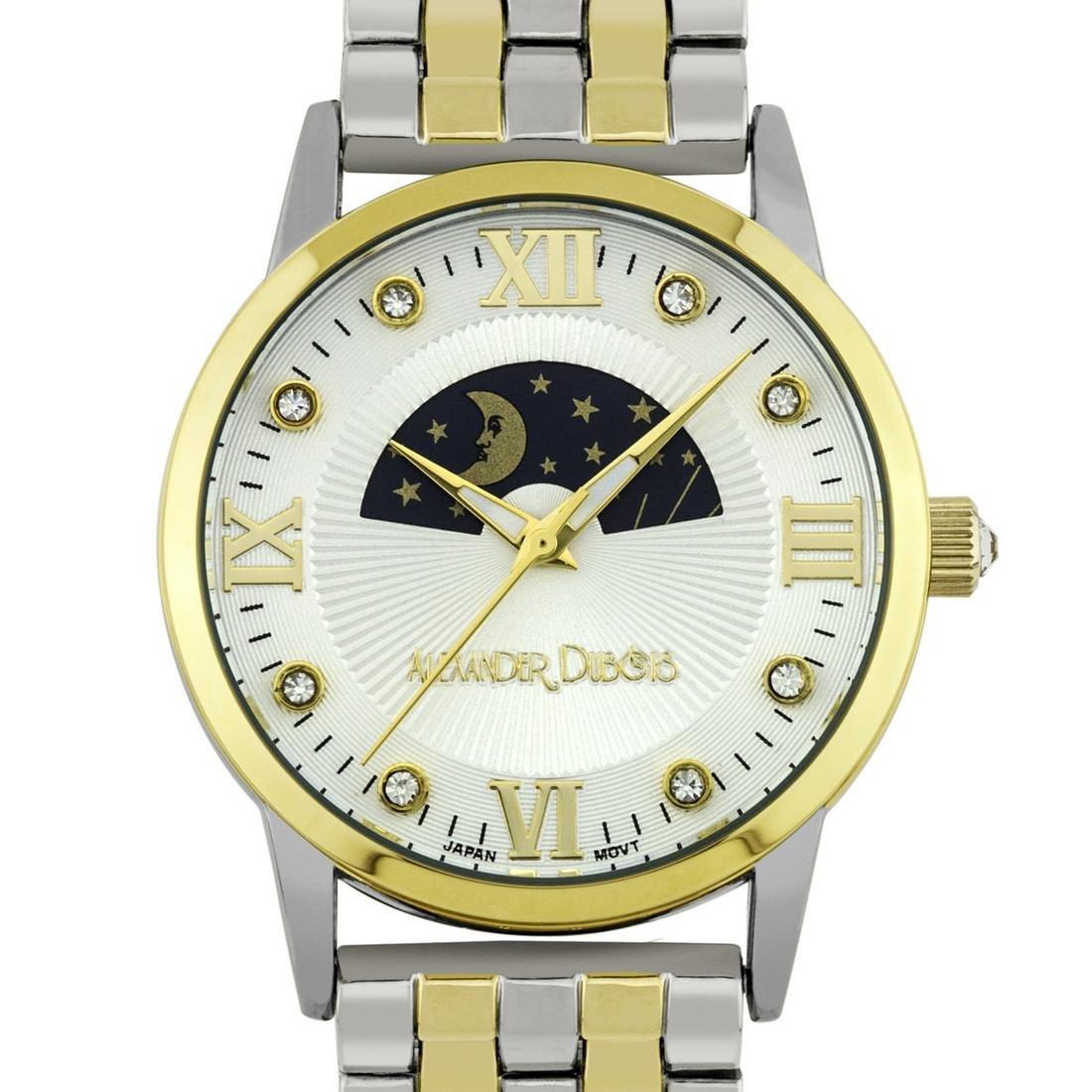 Alexander Dubois Luxury Moon Phase Ladies Watch