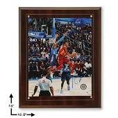 Kevin Durant AllStar West Signed 8x10 Plaque