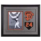Willie Mays San Francisco Giants Signed GFA