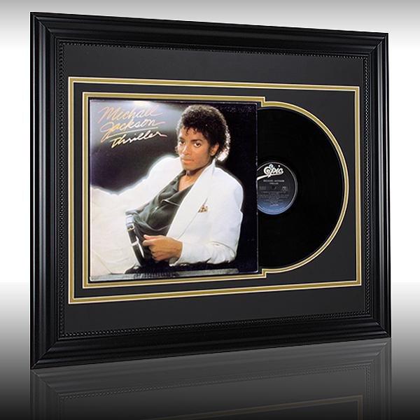 """Michael Jackson """"Thriller"""" Album Record 24x20"""