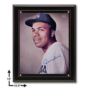 Tommy Davis Los Angeles Dodgers 105x13 Black Plaque
