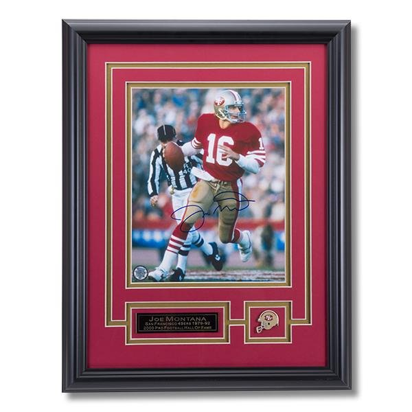 Joe Montana San Francisco 49ers Signed 8x10 GFA